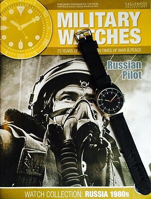 Military Watches Magazine Issue 37 RUSSIAN PILOT Working Watch 1980's MAG INC
