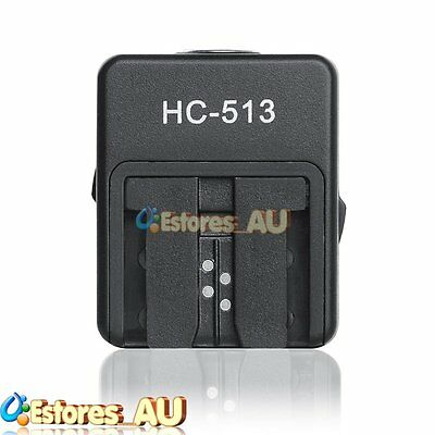 Sony HC513 Hot Shoe Adapter For Sony A6300 A6000 A7 A7R A7S A7S II to Sony Flash