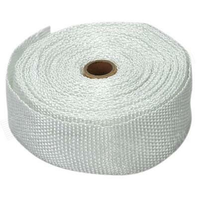 """2"""" High Temperature Car Exhaust Insulation Heat Wrap Tape 10 Metres + Cable Ties"""