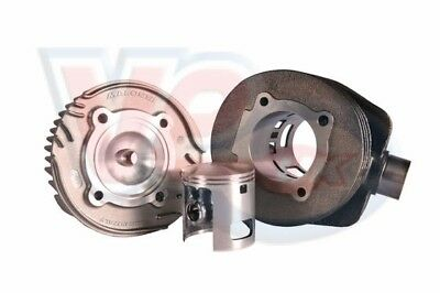 Vespa PX LML 125 150 Malossi 166 Cylinder Kit with Modified Transfer Ports - New