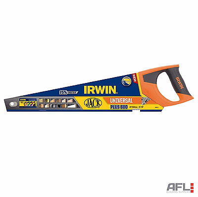 "Irwin Jack 10505212 880 Plus Universal Triple Ground Hand Saw 20""/500mm 8tpi"