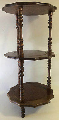 Vintage 3 Tier Wooden Stand