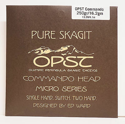 OPST Commando Head 250gr 16,2 Gr. 13,5ft 4,1 Mtr. Single Hand. Switch. Two Hand