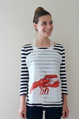 100 Pack Of Disposable Plastic Lobster Bibs Free Shipping