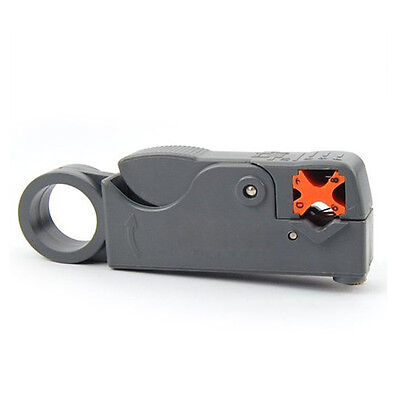 Double bladed Coaxial Cable Lead Rotary Wire Stripper Cutter DT
