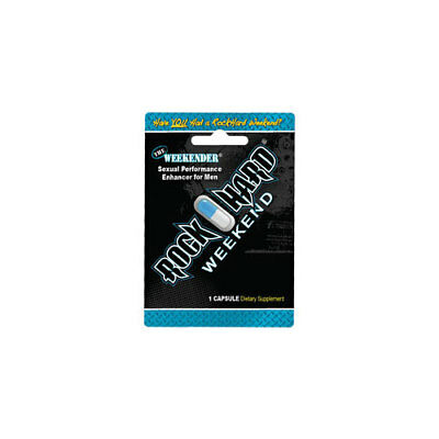 Rockhard Labs 1001R The Weekender Sexual Performance Enhancer For Men
