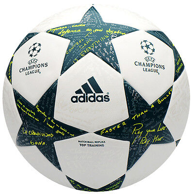 adidas UEFA Finale 16-17 Top Training Football Soccer Ball FIFA AP0373 Size 5