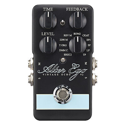 TC Electronic Alter Ego V2 Vintage Delay Looper Guitar Effects Stompbox Pedal
