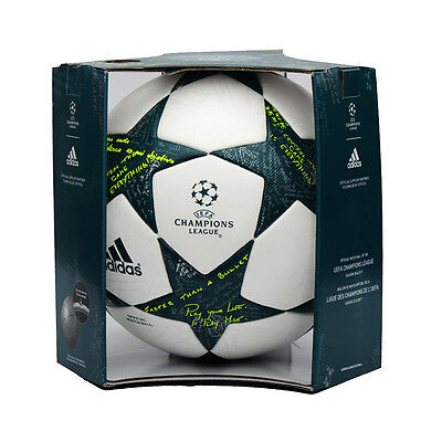 adidas UEFA Finale 16-17 OMB Football Soccer FIFA Ball AP0374 Size 5