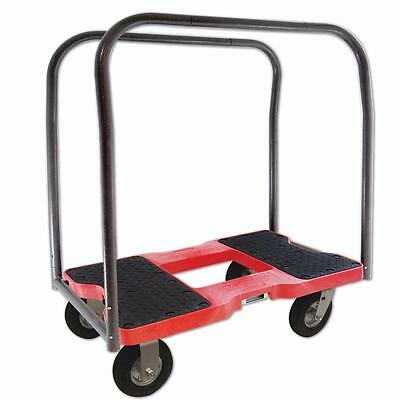 Snap-Loc Air-Ride Panel Cart Dolly Red SL1500PC6AR