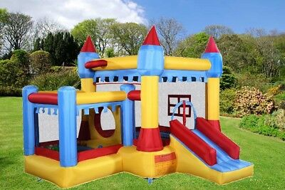 Inflatable Bounce House Castle Jumper Slide Bouncer Backyard Kids Fun Play Park
