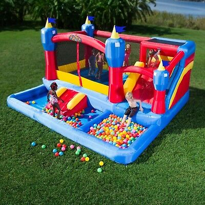 Inflatable Bounce House Water Slide Commercial Kids Fun Play Bouncer Castle NEW