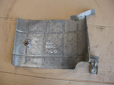 1995-2005 Alfa Romeo Gtv Spider Exhaust Rear Tailpipe Section Heat Shield