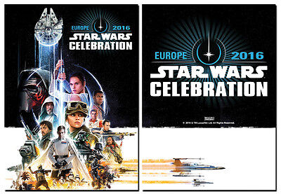 STAR WARS CELEBRATION 2016 - Imported From Europe - Rogue One - Super Thick Card