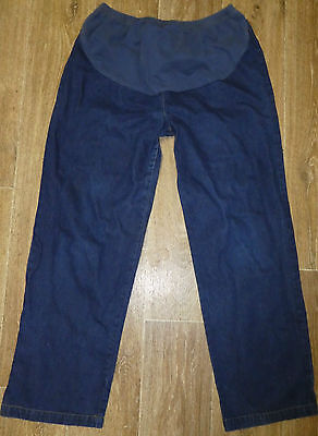 Ladies Now Maternity Size 14 Denim Jeans ~ As New