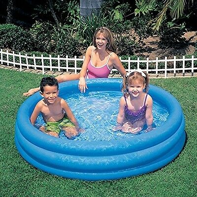 Intex Crystal Blue Inflatable Pool, 45 x 10 - New, Free Shipping
