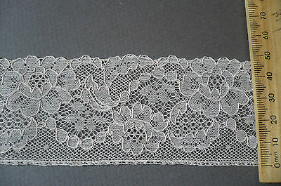 Vintage French Cotton Lace. Ecru.  1930's. 50mms.. x 2 Metres.