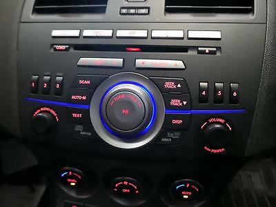 Mazda 3, Radio/CD Player, Factory, In Dash Stacker, BL, 04/09-10/13