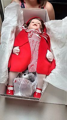 Lee Middleton Little Red Riding Hood Doll w Wolf & Basket Brand NEW Original Box