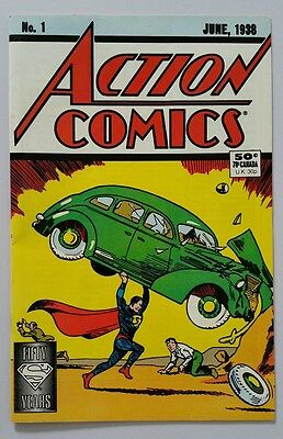SUPERMAN Action Comic # 1 June 1938 1st ISSUE Re Print