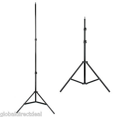NEW 2.1m Studio Photo Adjustable Soft Box Flash Continuous Light Stand Tripod UK