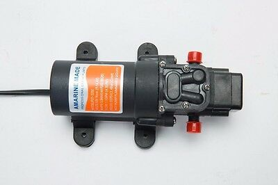 12v Water Pressure Diaphragm Pump 4.3 L/min 1.1 GPM 35 PSI - Caravan/rv/boat-AM