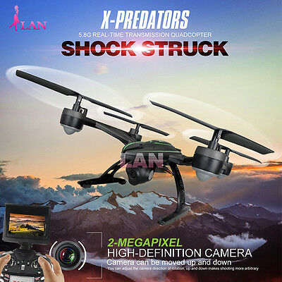 JXD 510G RC Drone Quadcopter with Monitor Camera 5.8G FPV Upgraded From 509G