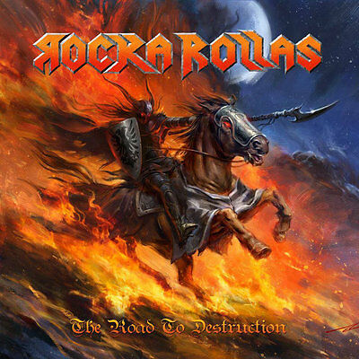 Rocka Rollas - The Road to Destruction Sweden Power / Speed Metal RARE!