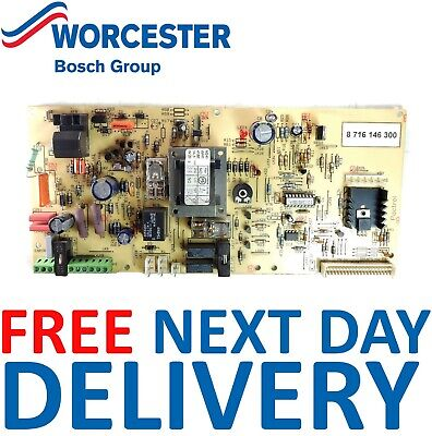 Worcester Bosch 24 i RSF (GC No. 47-311-37) PCB 87161463000 Genuine Part *NEW*