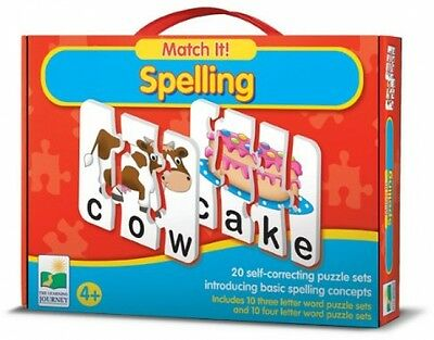 The Learning Journey Match It! Spelling - New, Free Shipping