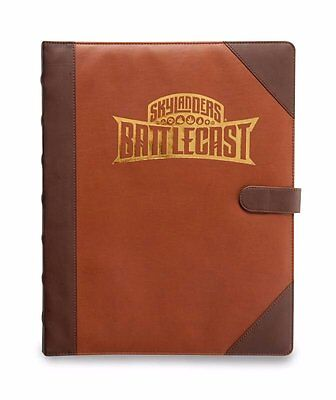 Skylanders Battlecast Official Spell Book - Holds 144 Character and Spell Cards