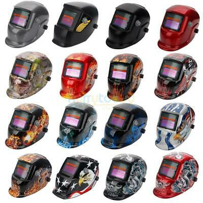 Hot Pro Solar Auto Darkening Mask Grinding Welder Cap Electric Welding Helmet US
