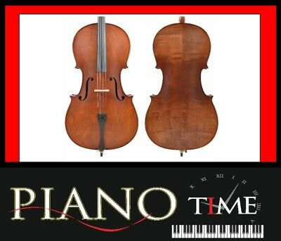 Enrico Cello | 3/4 Size | w/Bow and Case | Custom Stain | Brand New!