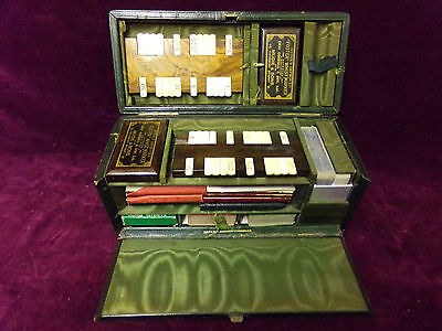 vintage playing cards box
