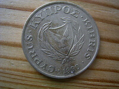 1990  Cyprus 10 Cent Coin Collectable