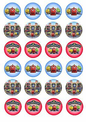 Edible Cupcake Toppers CHUGGINGTON - Highest Australian Quality