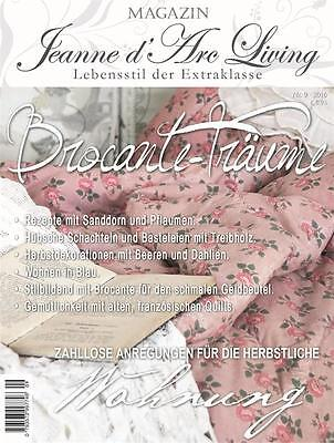 Jeanne d'Arc Living Magazin 09 /2016 Shabby Chic August Vintage 9/16 Brocante