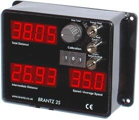 Brantz International 2 S Pro Rally Stage Tripmeter Comp