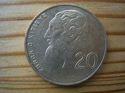 2001  Cyprus 20 Cent Coin Collectable