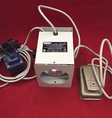 S&S 188 Bright Spot X-Ray Illuminator w/Foot Switch & Transformer See Listing