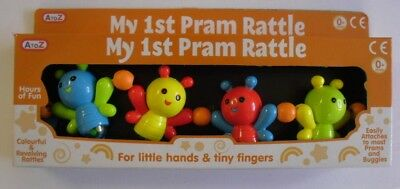Baby Babies Kids Toy Toys My 1st  Pram Buggy Pushchair Rattle Tiny Hand Finger