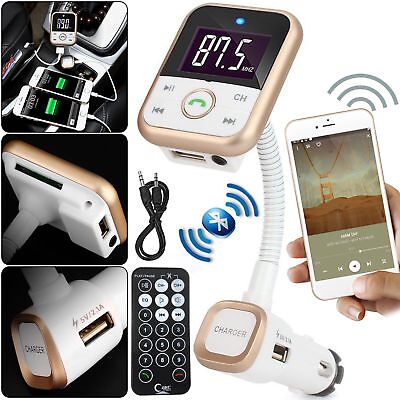 Wireless Car Audio MP3 Player FM Radio Transmitter USB SD Card For Mobile Phone