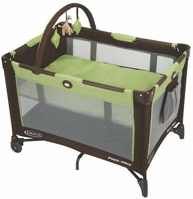 Pack n Play Playard Portable Baby Bassinet Crib Folding Play Pen Infant Nursery