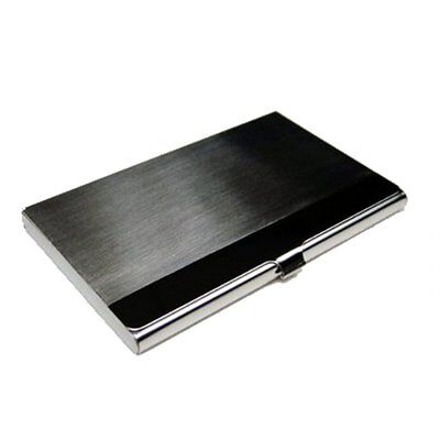 Business Name Card Holder Metal Stainless Steel Case (Silver,9.2*6CM) T1