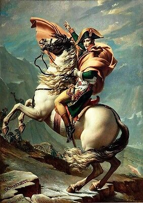Jacques Louis David: Napoleon Crossing the Alps. Print/Poster (1015110)