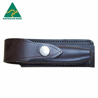 Horizontal Leather Knife Pouch 125mm