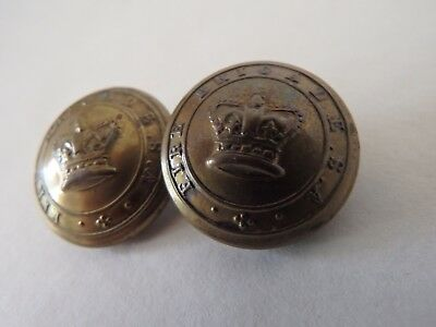 Fire Brigade S.A. uniform buttons Stokes and Sons  South Australia fireman