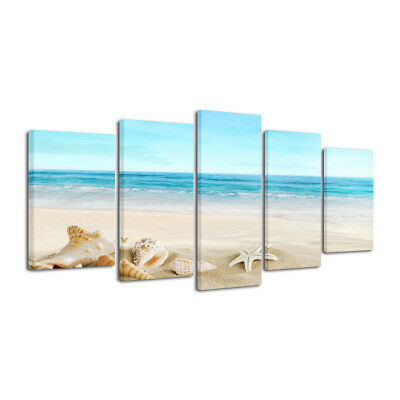 Canvas Print Picture Photo Landscape Seascape Blue Home Decor Wall Art Framed