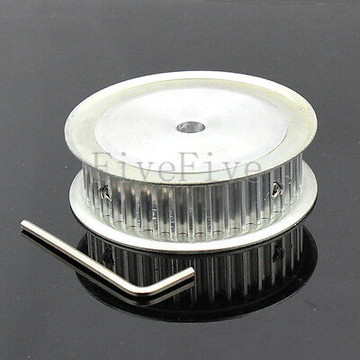 HTD 5M-40T-16W 6/6.35/8/10/12/12.7/14-17/20mm Bore Pitch-5mm Timing Belt Pulley