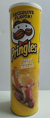 PRINGLES Cheesy Garlic Bread Potato Crisp Chips LIMITED EDITION